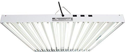 Image of Hydrofarm Agrobrite 4 Foot 12 Tube T5 Fluorescent Fixture