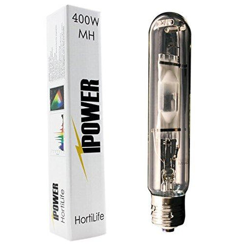 Image of iPower 400 Watt HPS and MH Air Cooled Tube Hood Reflector Grow Light Kit