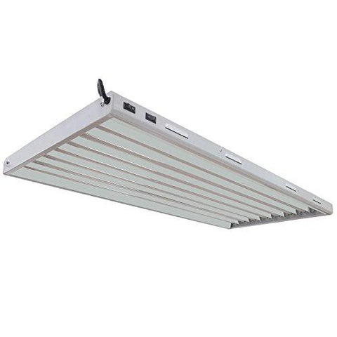 Vivosun T5 High-Output 4 Foot 8 Lamp Grow Light Fixture