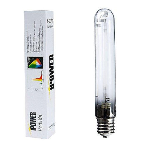 Image of iPower 600 Watt HPS Grow Light Bulb 2 pack