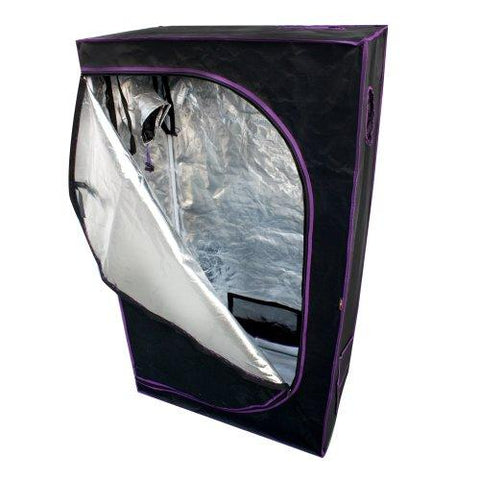 "Image of Apollo Horticulture 36"" x 20"" x 62"" Mylar Hydroponic Grow Tent"