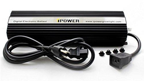 Image of iPower 400 Watt HPS And MH Air Cooled Hood Grow Light Kit