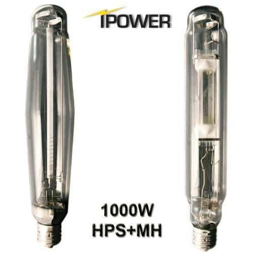 iPower 1000 Watt HPS and MH Air Cooled Tube Reflector Grow Light Kit