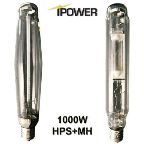 Image of iPower 1000 Watt HPS and MH Air Cooled Tube Reflector Grow Light Kit