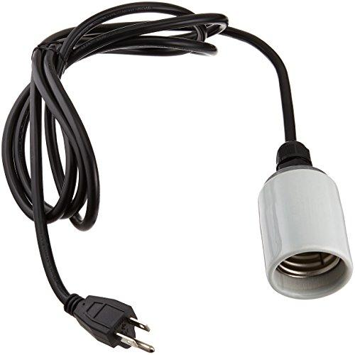 Buy Hydrofarm Mogul Socket And Cord Set For Cfl And Incandescent Bulbs Online Grow Light Central