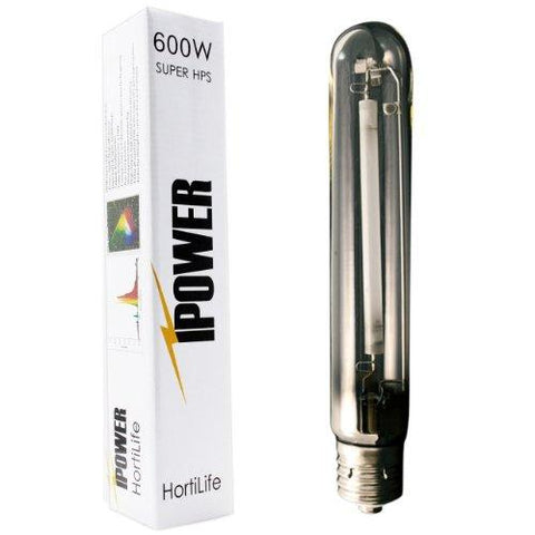 Image of iPower 600 Watt HPS Only XXL Air Cooled Tube Hood Reflector Grow Light Kit