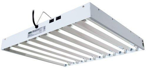 Image of Hydrofarm Agrobrite 2 Foot 8 Tube T5 Fluorescent Fixture