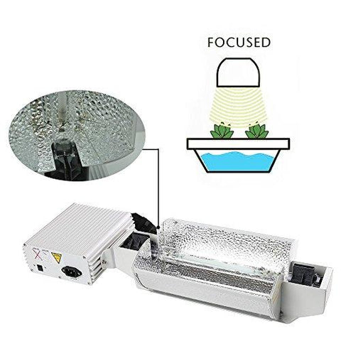 iPower 277V 1000 Watt Double Ended HPS Grow Light Kit