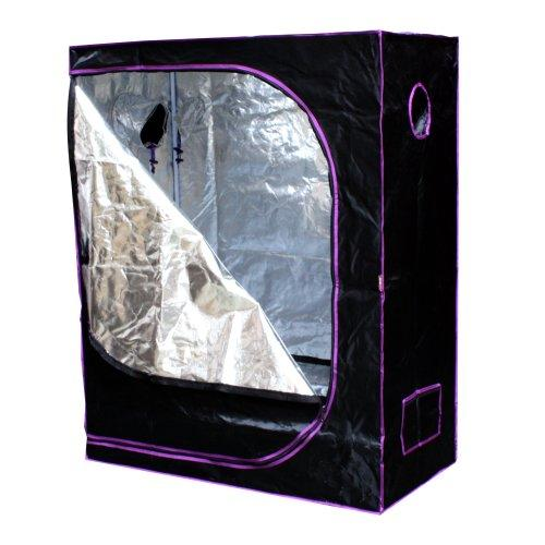 "Buy Apollo Horticulture 48"" x 24"" x 60"" Mylar Hydroponic Grow Tent"