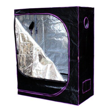 "Image of Apollo Horticulture 48"" x 24"" x 60"" Mylar Hydroponic Grow Tent"