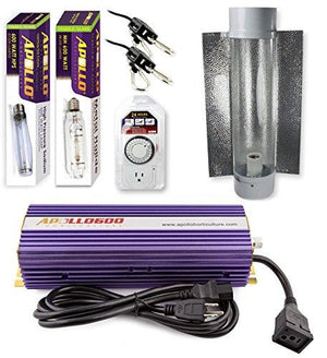 Apollo Horticulture 600 Watt HPS and MH Air Cool Tube Kit