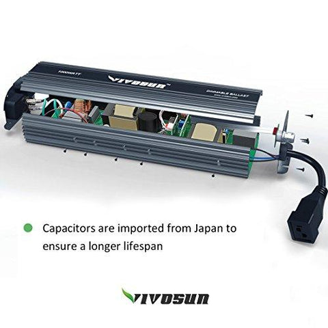 Vivosun 400 Watt Dimmable Digital Ballast