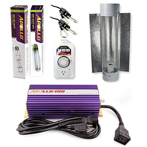 Image of Apollo Horticulture 400 Watt HPS and MH Air Cool Tube Kit