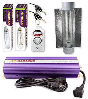 Apollo Horticulture 1000 Watt HPS and MH Air Cool Tube Kit
