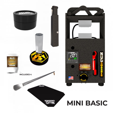 NugSmasher Mini Basic Combo Set (All-In-One Starter Kit)