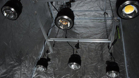 Image of 4 by 4 Foot Optic Hang Kit (Incl. 6x 54 Watt Optic 1 Lights)
