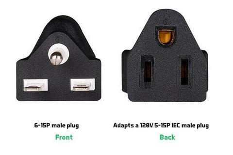 Image of Scynce NEMA 240V Plug (6-15 Adapter Or 6-20 Re-plug)
