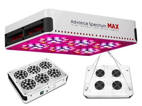 Advance Spectrum MAX 270 Watt LED Grow Light Panel