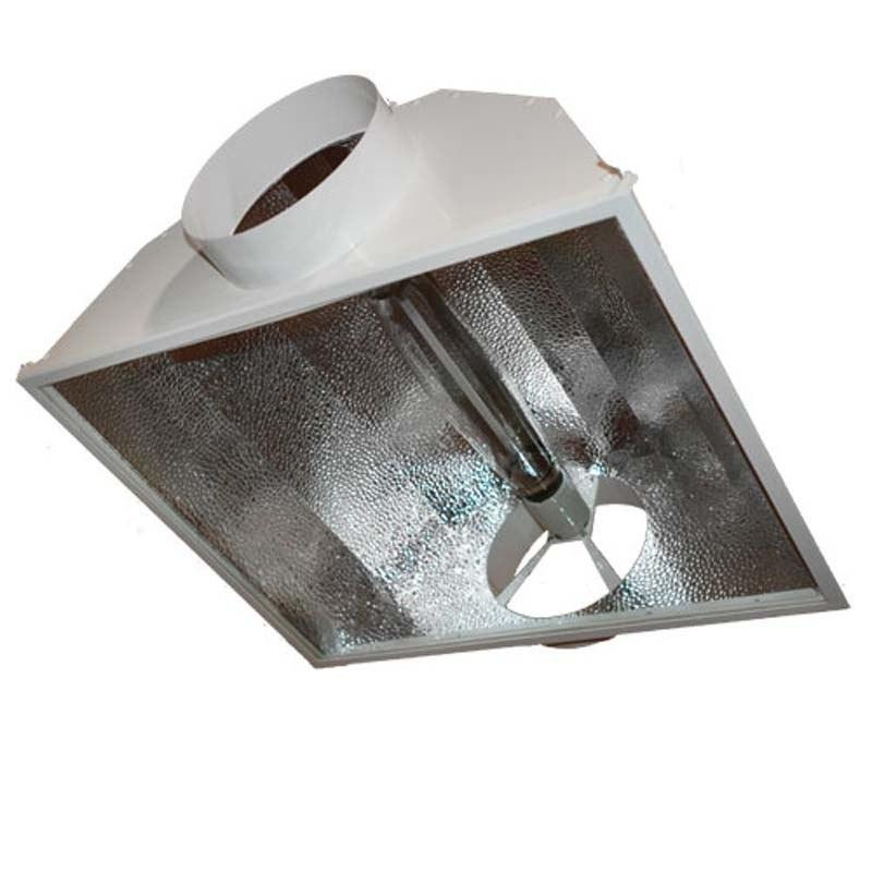 Air-Cooled Hood Reflector For HPS & MH (3 Flange Sizes)