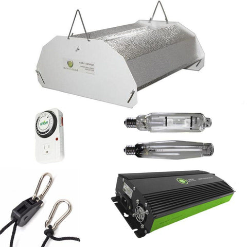 Image of Budget Hood 1000 Watt HPS And MH Grow Light Kit