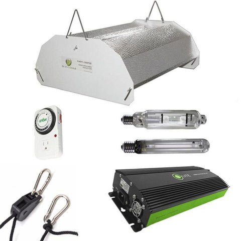 Image of Budget Hood 600 Watt HPS And MH Grow Light Kit