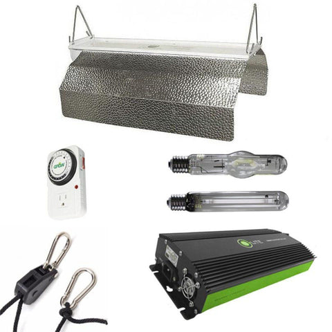 Budget Wing 400 Watt HPS & MH Grow Light Kit