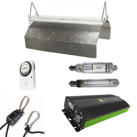 Image of Budget Wing 600 Watt HPS & MH Grow Light Kit