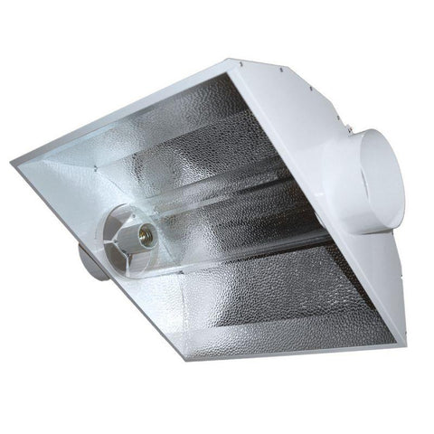 Air-Cooled Tube Hood Reflector For HPS & MH (2 Flange Sizes)