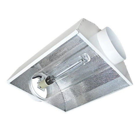 Image of Air-Cooled Tube Hood 400 Watt HPS & MH Grow Light Kit (2 Flange Sizes)