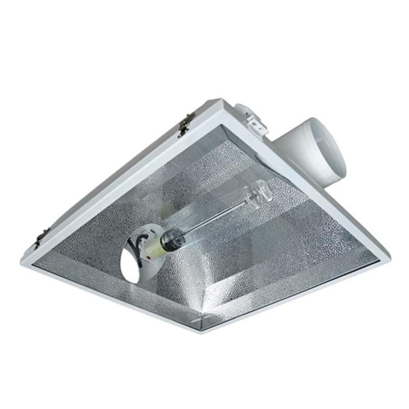 Cube Air-Cooled Hood 1000 Watt HPS & MH Kit (2 Flange Sizes)