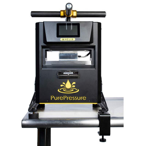 PurePressure Helix 3-Ton Manual Rosin Press