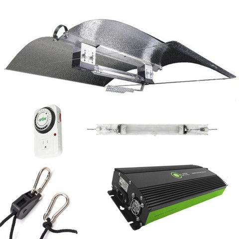 Adjust-A-Wing Hellion DE 600 Watt HPS Grow Light Kit