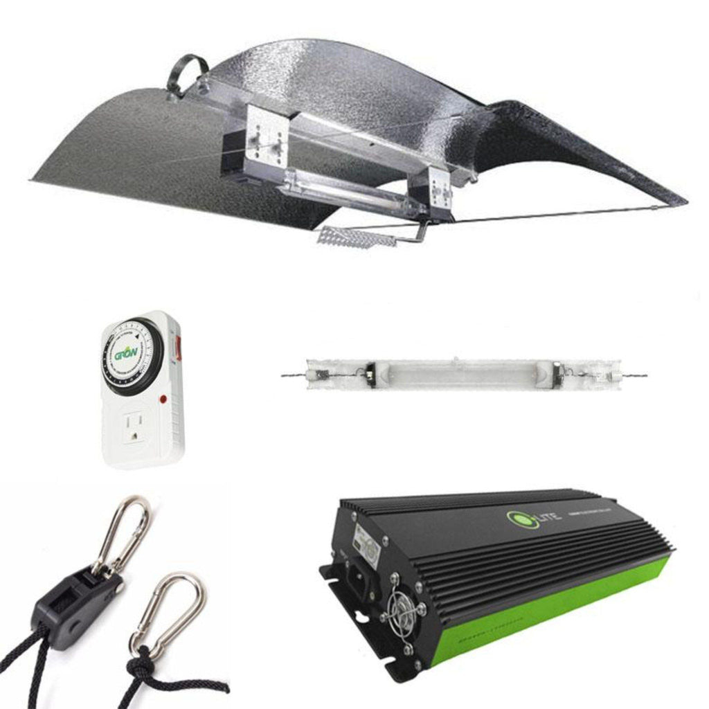 Adjust-A-Wing Hellion DE 1000 Watt HPS Grow Light Kit