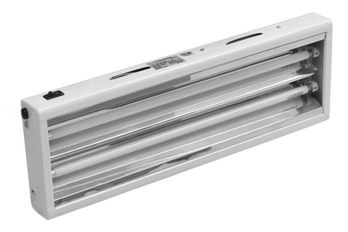 LuxStar 2 Foot 2 Bulb T5 Fluorescent Fixture With Bloom Bulbs