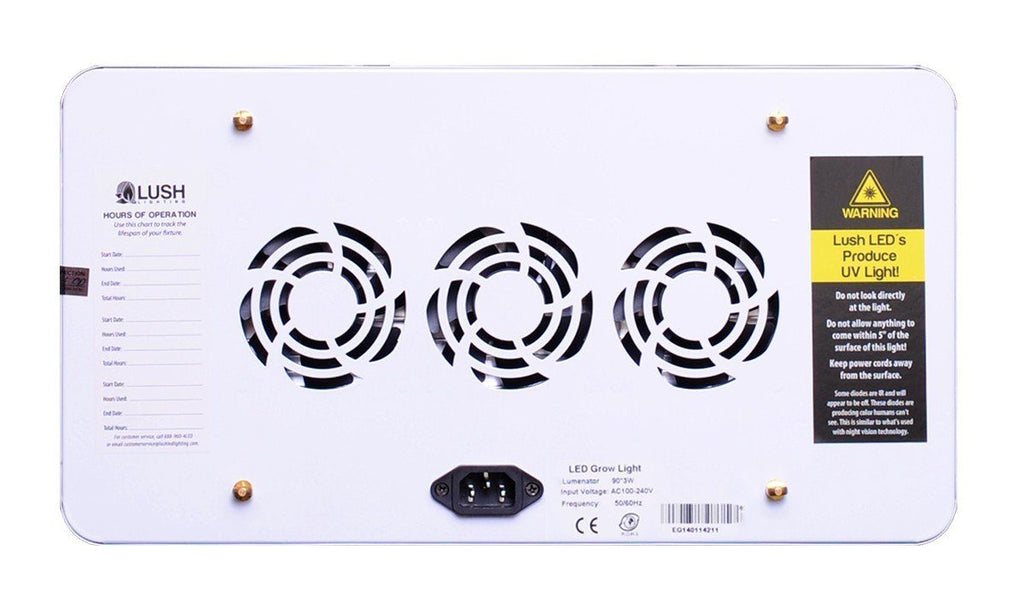 Lush Lighting Lumenator (2x & Regular) LED Grow Light