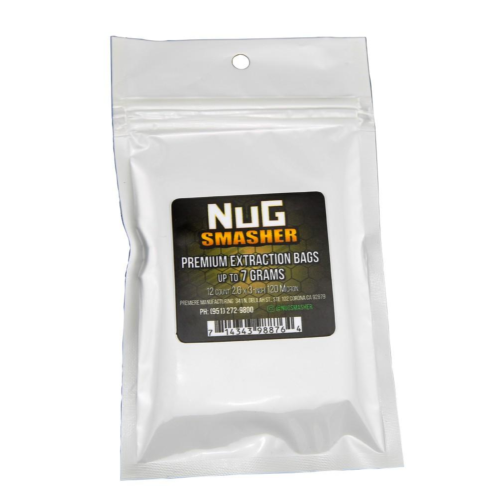 NugSmasher 7 Gram Rosin Extraction Bags