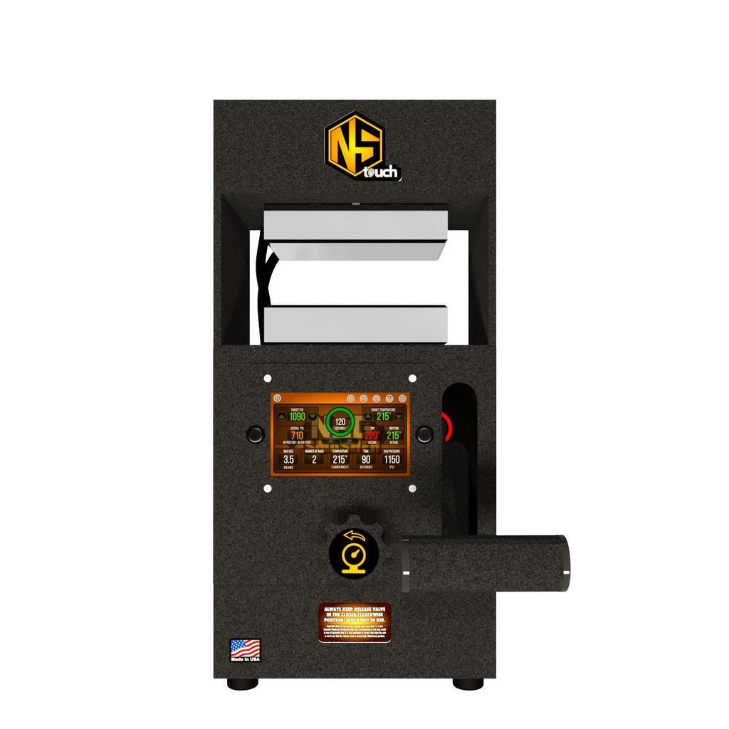 NugSmasher Touch Rosin Press