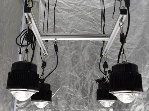 Image of 3 by 3 Foot Optic Hang Kit (Incl. 4x 54 Watt Optic 1 Lights)