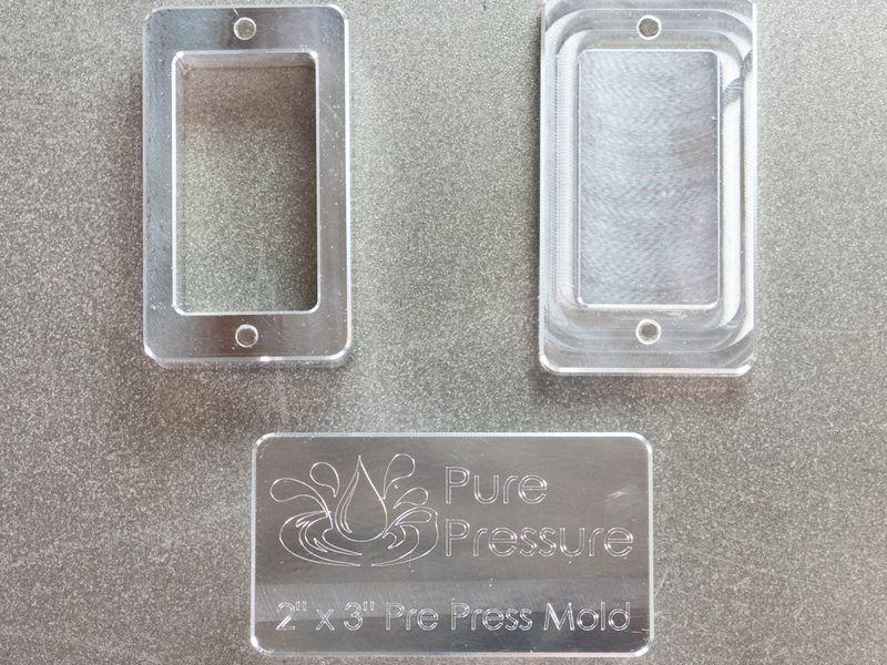 PurePressure Rosin Pre-Press Molds (3 Sizes)