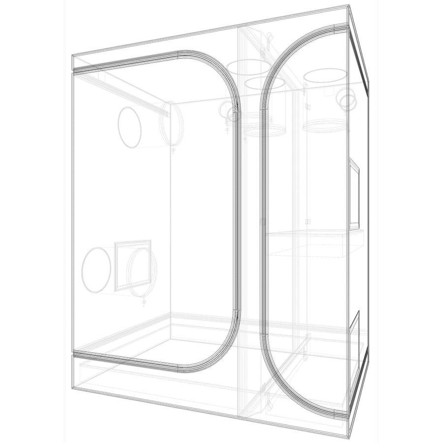 Secret Jardin Lodge 120 3-In-1 Grow Tent (4 x 3 Feet)