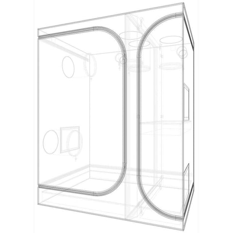 Image of Secret Jardin Lodge 120 3-In-1 Grow Tent (4 x 3 Feet)