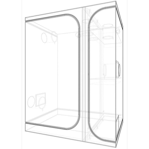 Secret Jardin Lodge 160 3-In-1 Grow Tent (5.25 x 4 Feet)