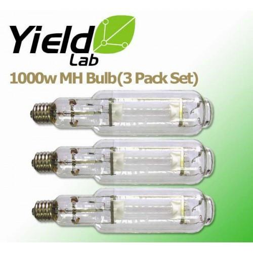 Yield Lab 1000 Watt MH Grow Light Bulb 3 Pack