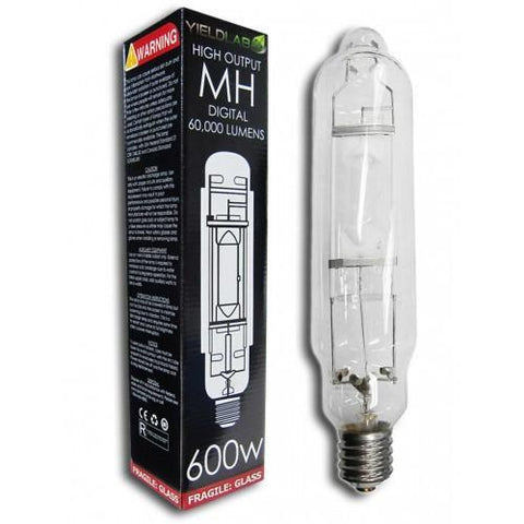 Yield Lab 600 Watt Wing Reflector HPS & MH Kit