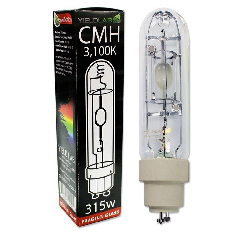 Yield Lab Pro Series CMH 630 Watt Dual Bulb Grow Light Kit