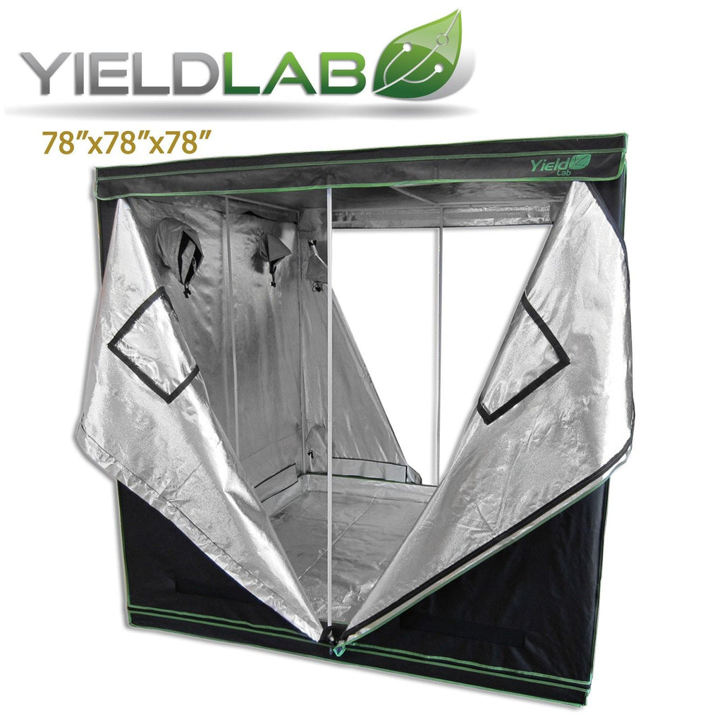 Yield Lab 78  by 78  by 78  Reflective ...  sc 1 st  Grow Light Central & Yield Lab 78