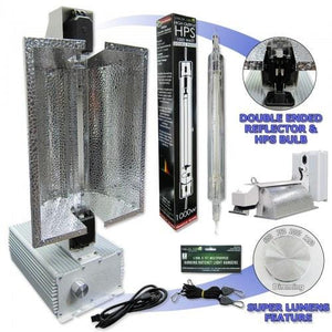 Yield Lab Pro Series 240V 1000 Watt Double Ended Complete Grow Light Kit