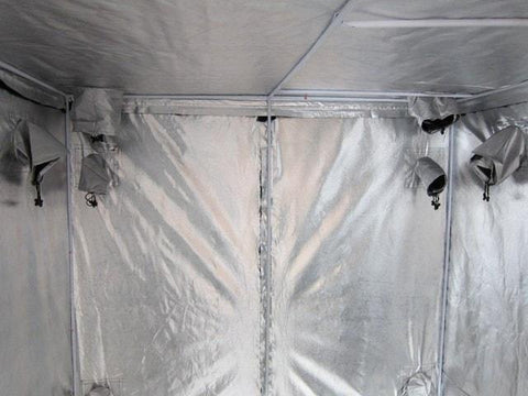 "Yield Lab 78"" by 78"" by 78"" Reflective Grow Tent"