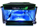 "Yield Lab 32"" by 32"" by 24"" Reflective Grow Tent"