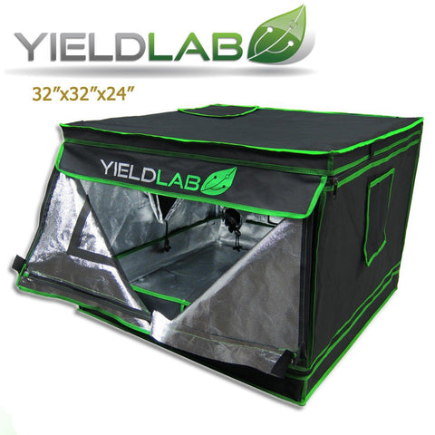 "Image of Yield Lab 32"" by 32"" by 24"" Reflective Grow Tent"